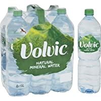 Volvic Natural Mineral Water, 1.5L, (Pack of 6)