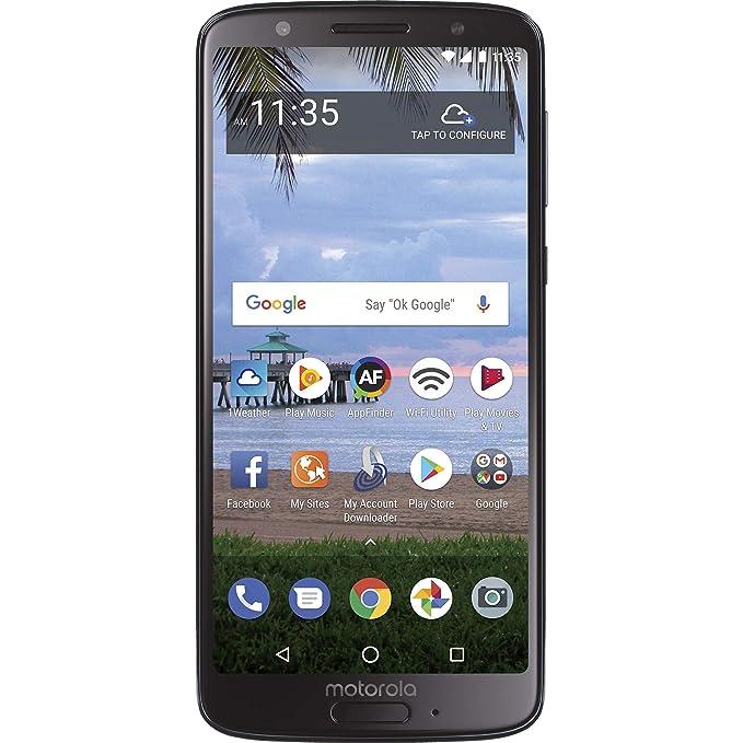 Simple Mobile Motorola Moto G6 4 G Lte Prepaid Smartphone by Tracfone