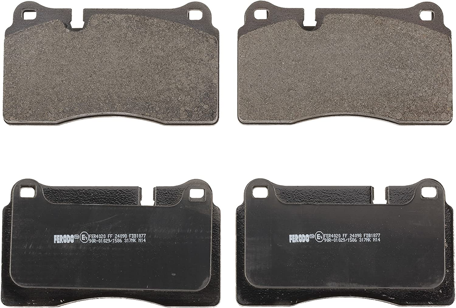 Ferodo FDB4394 Low Steel Disc Brake Pad Set