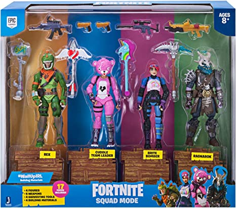 """lot Of 12 Fortnite NEW 4/"""" Action Figure Accessory Mystery Loot Box"""