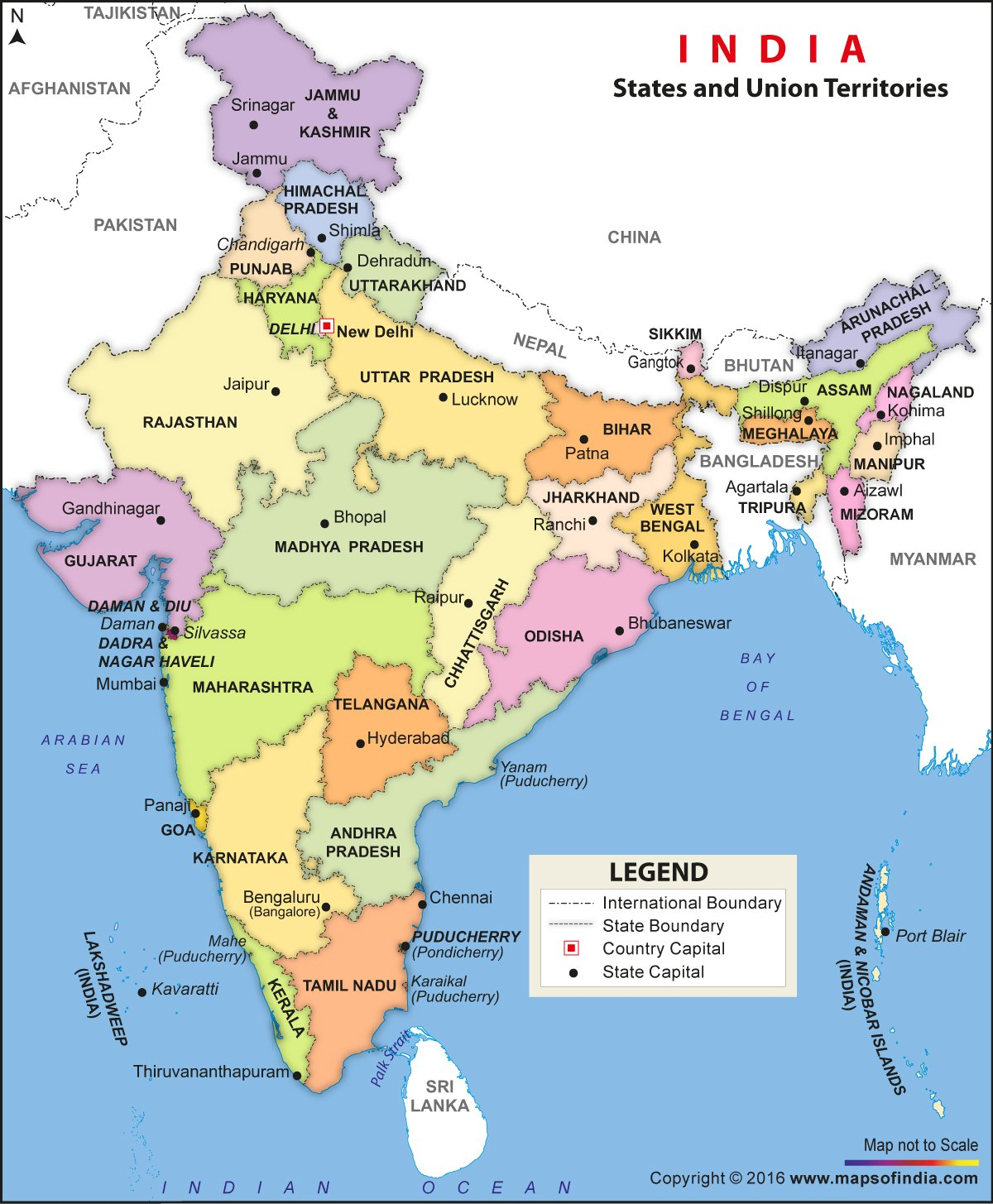 india political map ( h x  w) vinyl print maps of india  - india political map ( h x  w) vinyl print maps of indiaamazonin office products