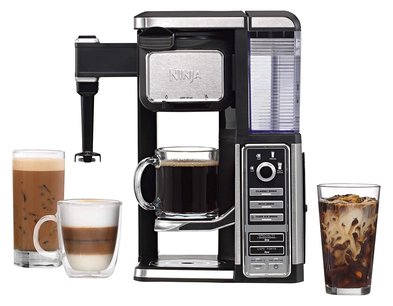 Amazon.com: Ninja Coffee Bar Single-Serve System (CF110 ...