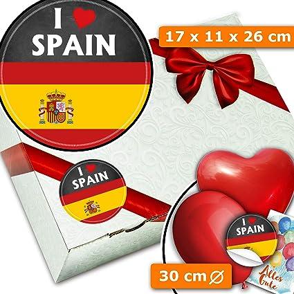 I love Spain - Caja de regalo de España: Amazon.es: Oficina y papelería
