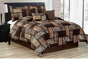 d60ab8a80 Amazon.com  4 Piece Safari Curtain set - Zebra