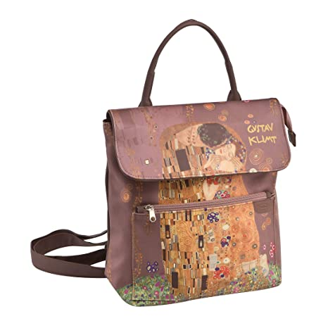 Goebel Mochila el Beso Gustav Klimt Novedad 2018 – Mochila para Mujer