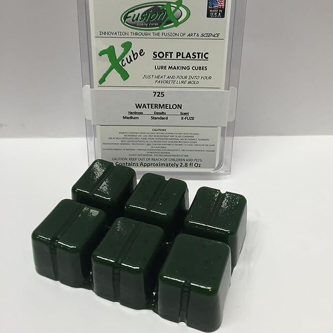 Señuelo de pesca cucharilla Flexible (Making Kit de iniciación de cubos de plástico - 6 unidades - más de 16 oz (1 pinta) total resina: Amazon.es: Deportes ...