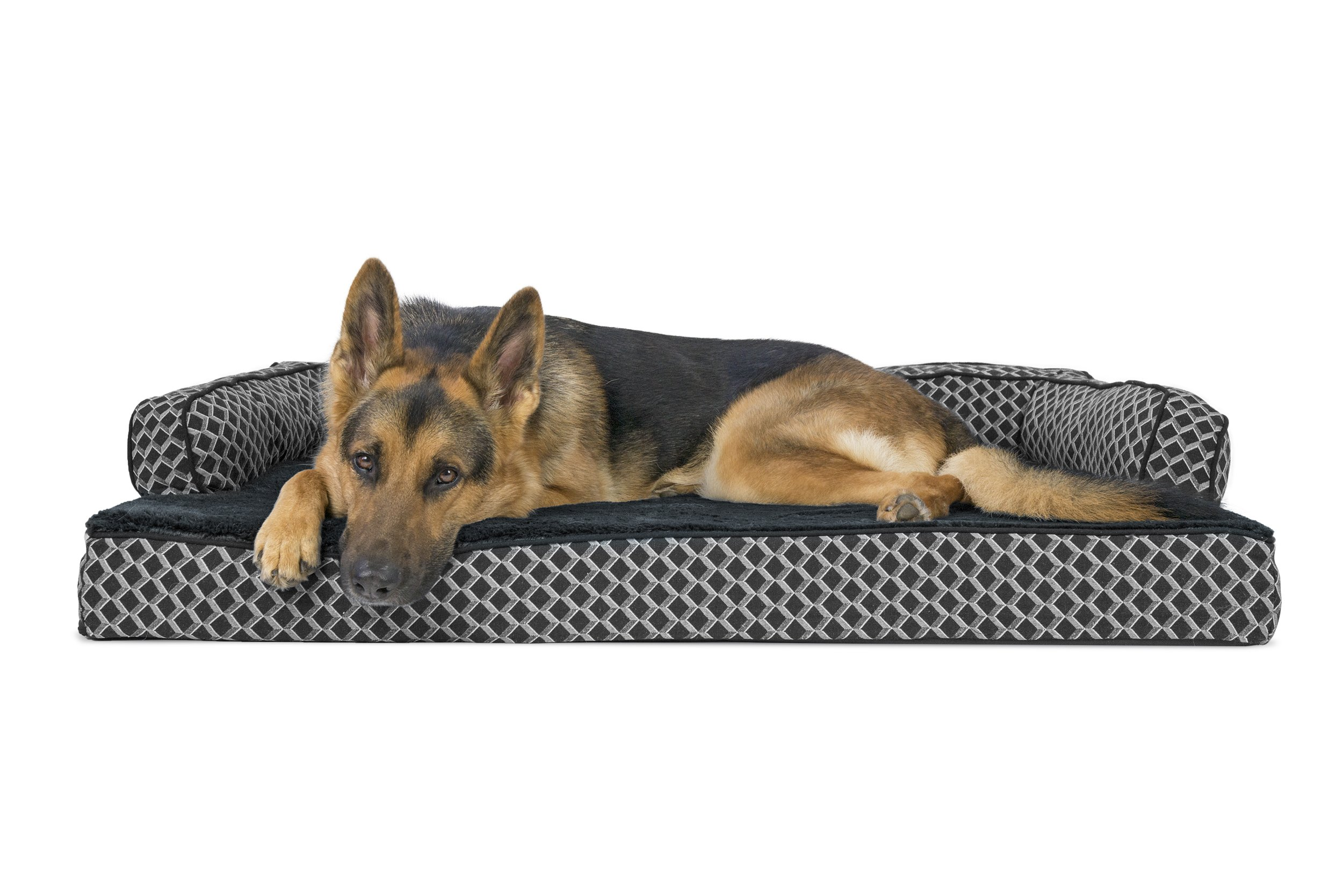FurHaven Orthopedic Dog Couch/Sofa Bed for Dogs and Cats - Available in 17 Colors/Styles
