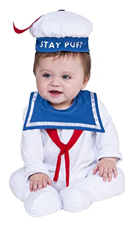 35cec67cb55 Amazon.com  Rubie s Costume Co. Baby Ghostbusters Classic Stay Puft ...