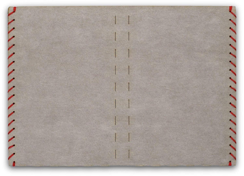 Billetera, Carteras para hombre, billetera-tarjetero - papel, delgado, minimalista, vegano, moderno - color gris - hecho por BERLIN slim: Amazon.es: ...