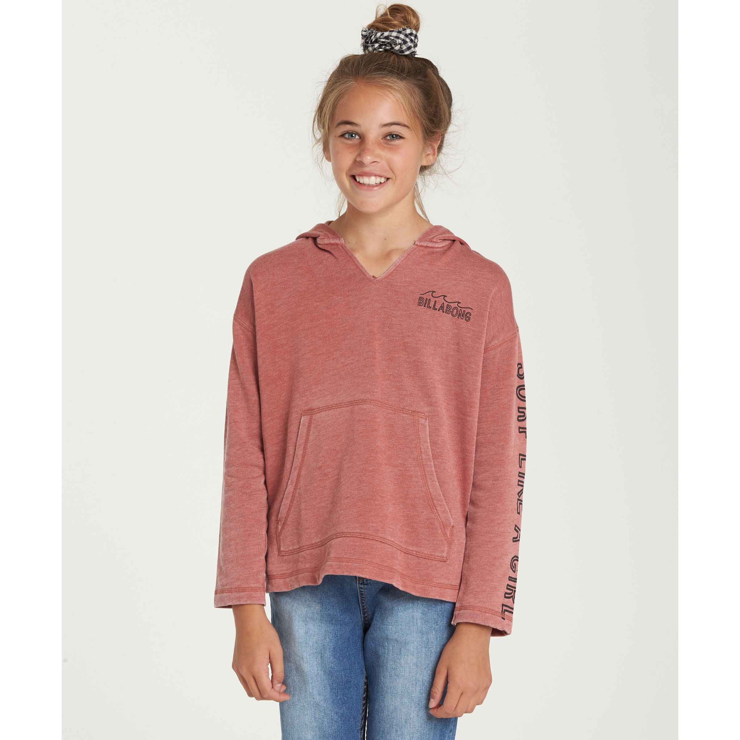 Billabong Big Girls' Sunday Love Fleece, Sienna, XXS