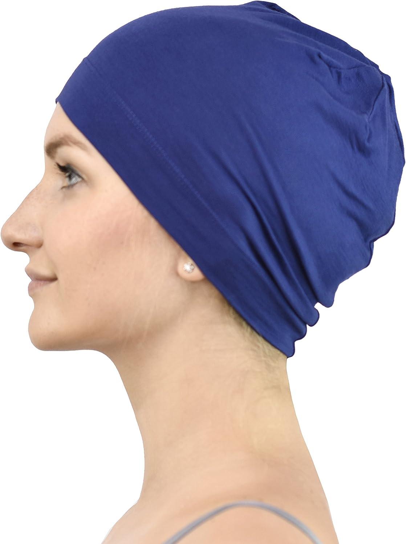 Jasmine Silk Cuffia di seta per chemioterapia e perdita di capelli unisex