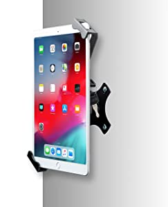 "Tablet Mount, CTA Digital Security On-Wall Flush Mount for 7-14"" Tablets, Fits iPad 10.2-Inch (7th Generation), iPad Air 3, iPad Mini 5, 12.9-Inch iPad Pro, 11-Inch iPad Pro, iPad Gen 6 & More"