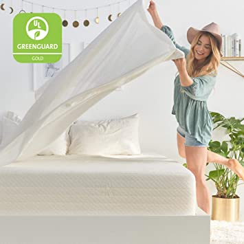 non toxic memory foam mattress Amazon.com: Brentwood Home Cypress Mattress, Greenguard Gold  non toxic memory foam mattress