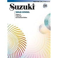 Suzuki Violin School, Vol 3: Violin Part (Book & CD): International Edition