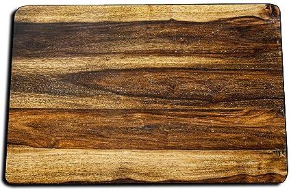 Amazon.com: Alfombra de baño, estilo rústico de madera ...