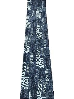 tappeto cucina grigio nero scritte love antiscivolo life design living cm 50 x 180