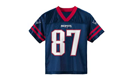 f27a0daba Outerstuff Rob Gronkowski New England Patriots Youth Navy Jersey Small 6/7