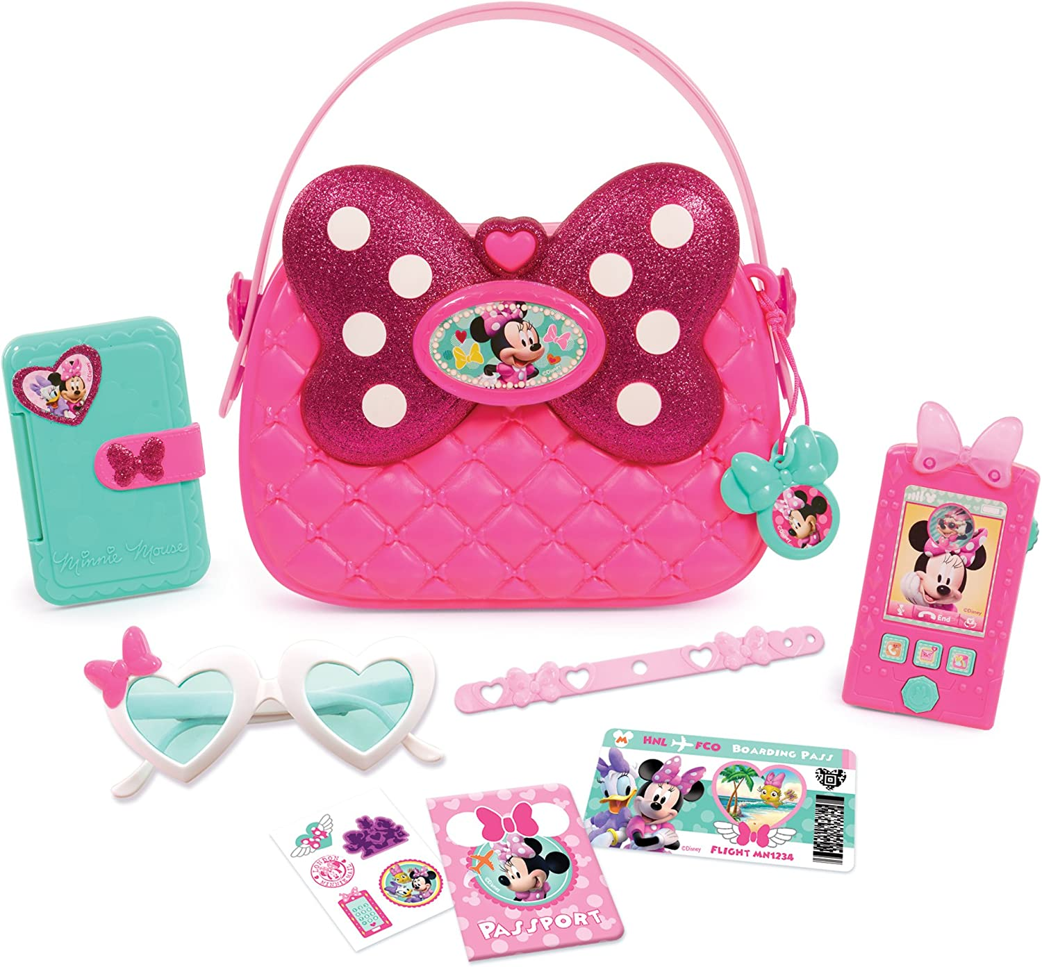 Minnie Mouse Happy Helpers Bag Set With Lights And Sounds