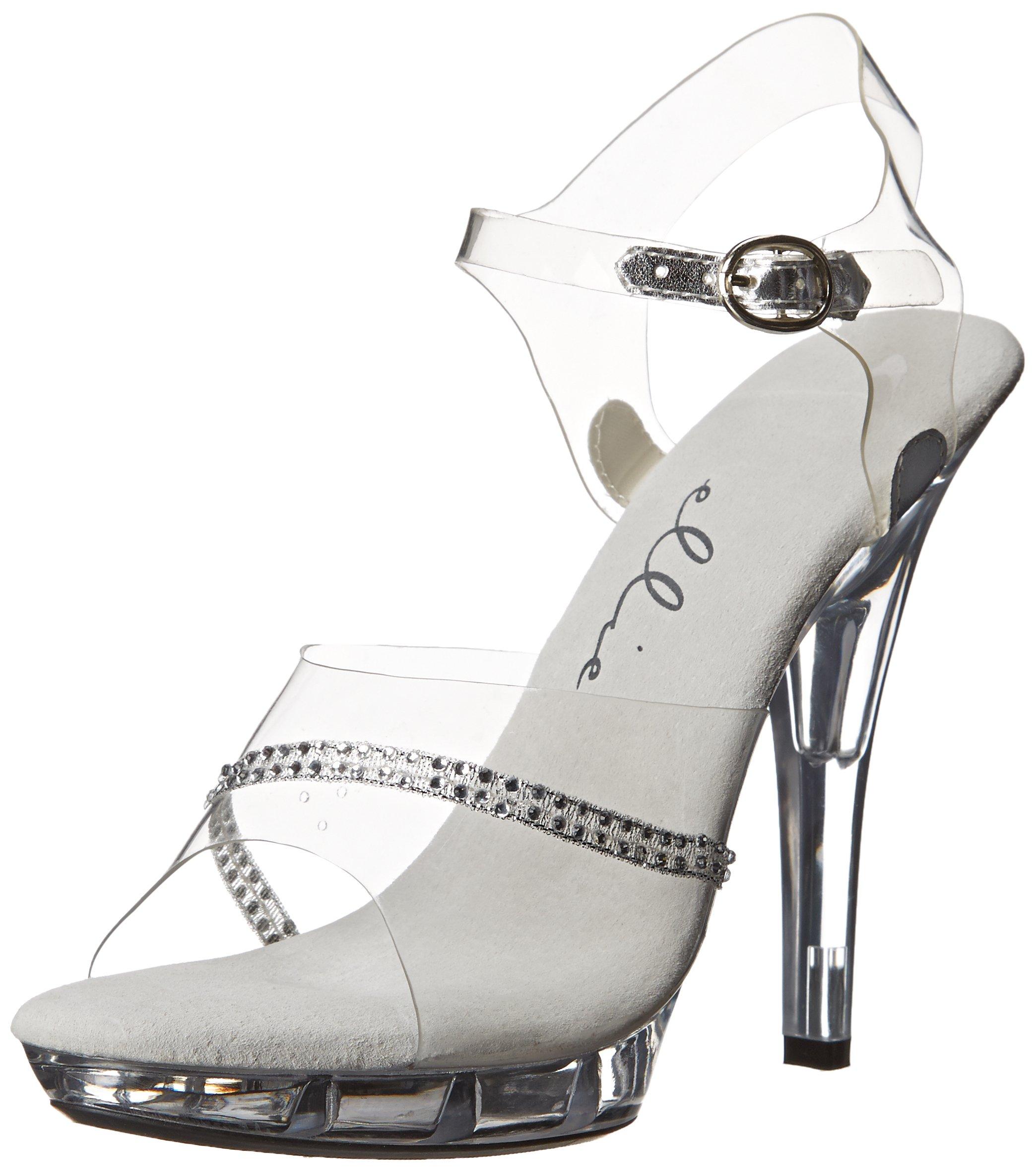Ellie Shoes Women's M Jewel Platform Sandal