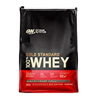 Optimum Nutrition Gold Standard 100% Whey Protein Powder, Double Rich Chocolate...