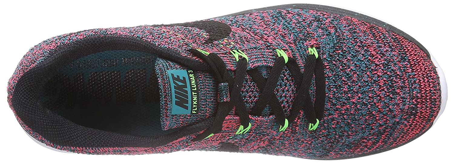 NIKE Shoes Women's Flyknit Lunar3 Running/Training Shoes NIKE B00X6V22GA 11 D(M) US|Radiant Emerald/Black/Hyperpunch a884c7