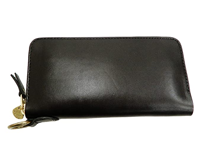 d85d98bdc9fe Tedman Men's Casual Zip Around Leather Long Wallet Made in Japan TDW ...