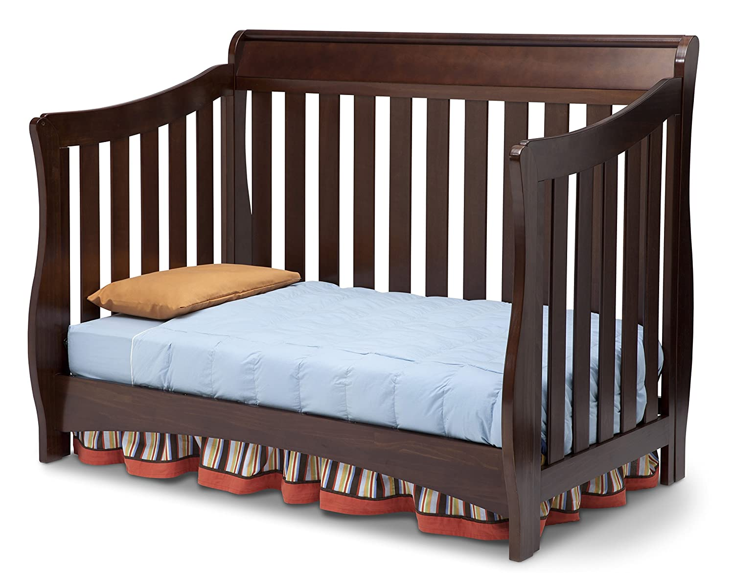 children series convertible to and s gallery delta in bed toddler nursery converting bentley mattress crib baby