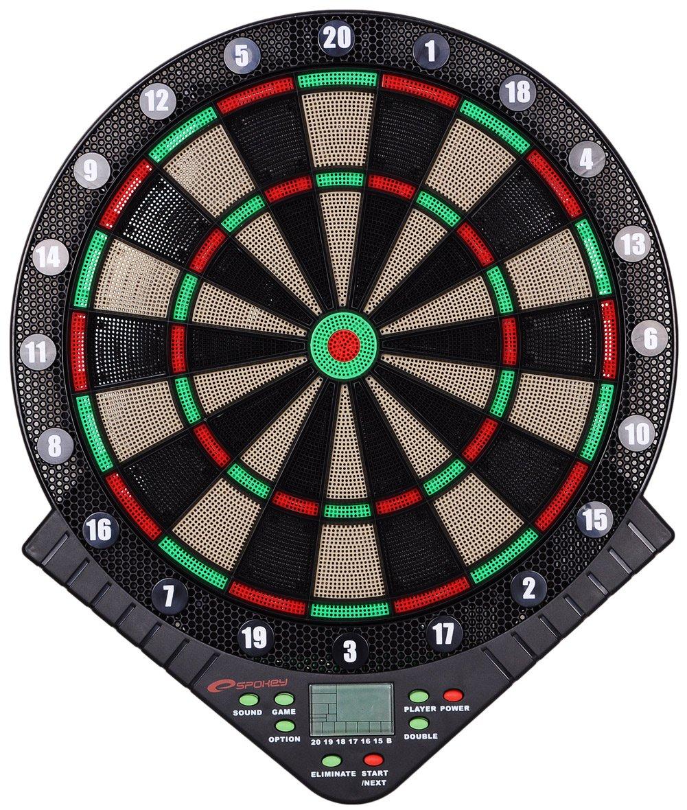 Spokey Unisex TETYDA Electronic Dart Board, Multi-Colour, One Size Spokey_84854