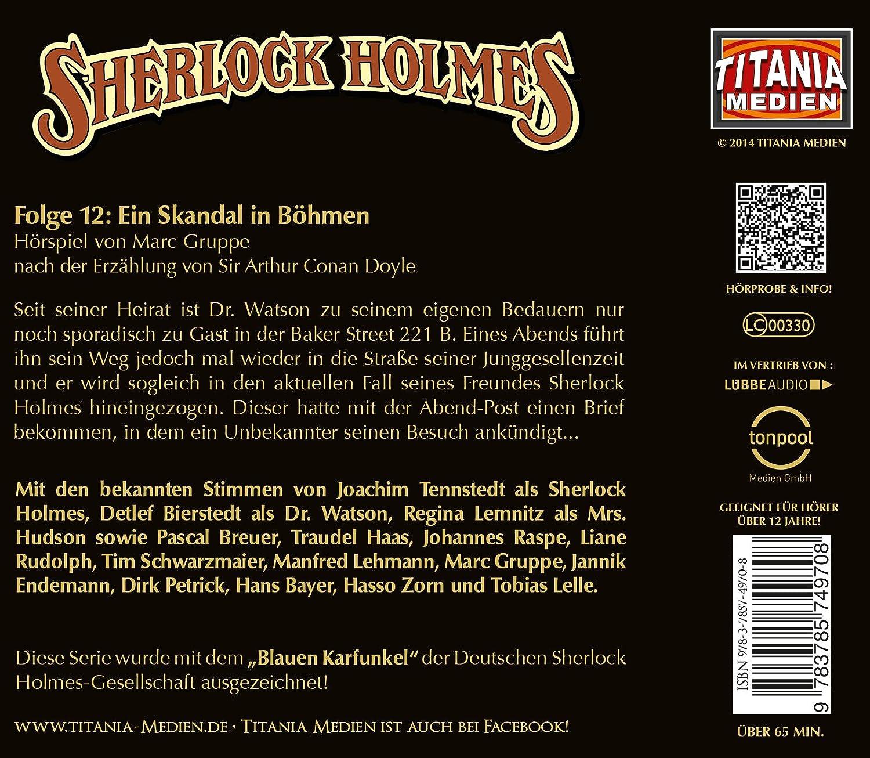 Sherlock Holmes, Folge 12: Ein Skandal in Böhmen - Sir Arthur Conan Doyle:  Amazon.de: Musik