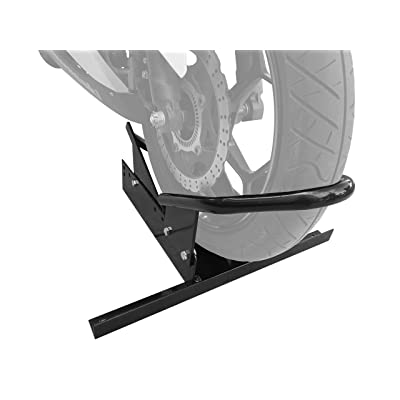 MaxxHaul 80077 Standard Motorcycle Wheel Chock with Pivoting Cradle: Automotive