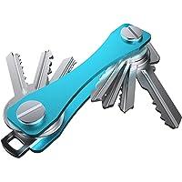 Sora® Llavero Organizador de Llaves Color Negro. Compatible con Llaves Estandar. Keychain Organizer.