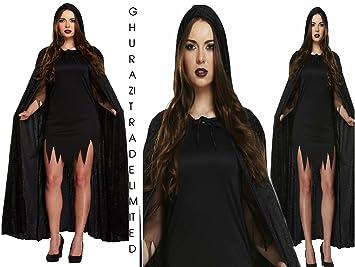 Long sleeve black dress costume