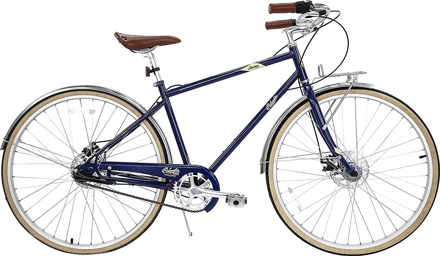 Electric Bike Relay Columbia Bicycles 700c Mens Vintage 3 Speed City Cruiser Blue 18 One Size Sports Outdoors