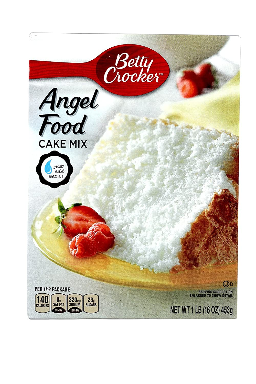 Betty Crocker White Angel Food Cake Mix - Pack Of 3 (16oz) Boxes