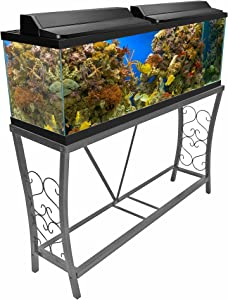 Aquatic Fundamentals Gray Fish Tank Stand