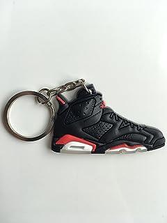 df9b0ca40b3b Amazon.com   Jordan Retro 5 X Supreme White Sneaker Keychain Shoes ...