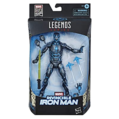 "Hasbro Marvel Legends Series 6"" Collectible Action Figure Iron Man Toy: Toys & Games"