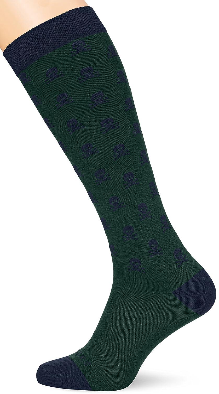 Scalpers Skull Socks 03:Green, Calcetines para Hombre, Unica: Amazon.es: Ropa y accesorios