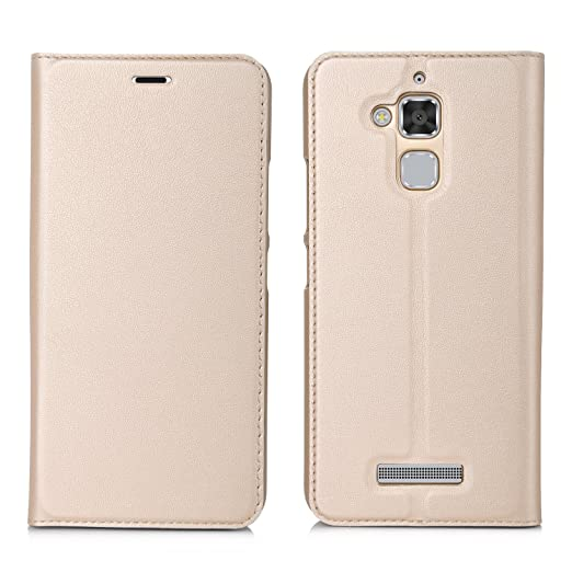 62 opinioni per ELTD Asus Zenfone 3 Max ZC520TL Flip Cover, Super Slim Perfect Fit Premium Hard