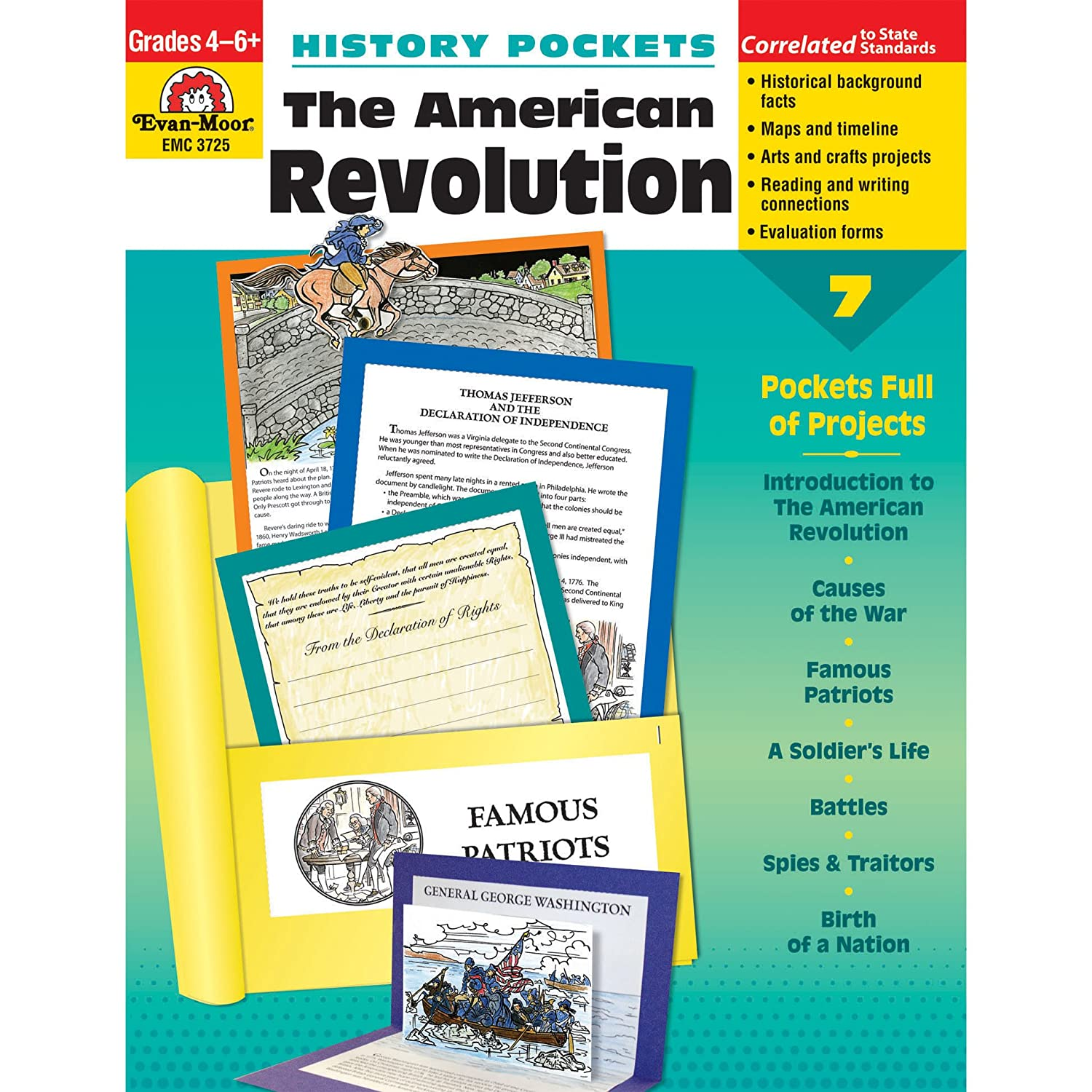 Amazon history pockets the american revolution 0023472037251 amazon history pockets the american revolution 0023472037251 evan moor evan moor educational publishers books fandeluxe