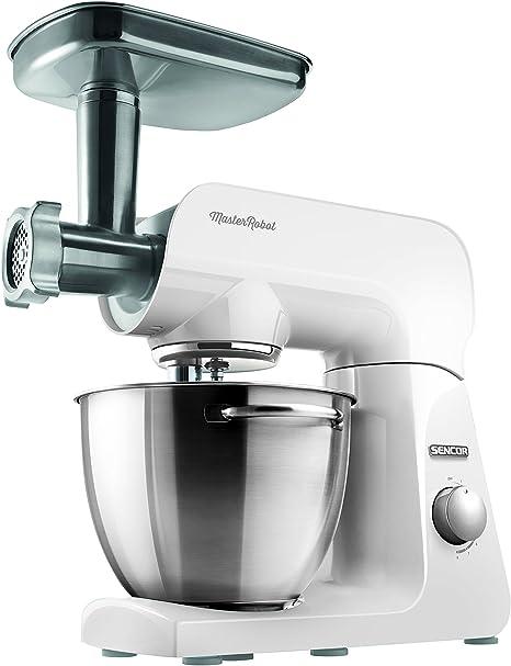 Sencor STM 40WH-Robot de cocina (8 velocidades, 1 000 W), 1000 W ...