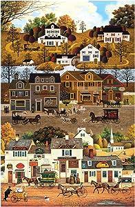 Northcott Autumn Village 24'' Panel Beige