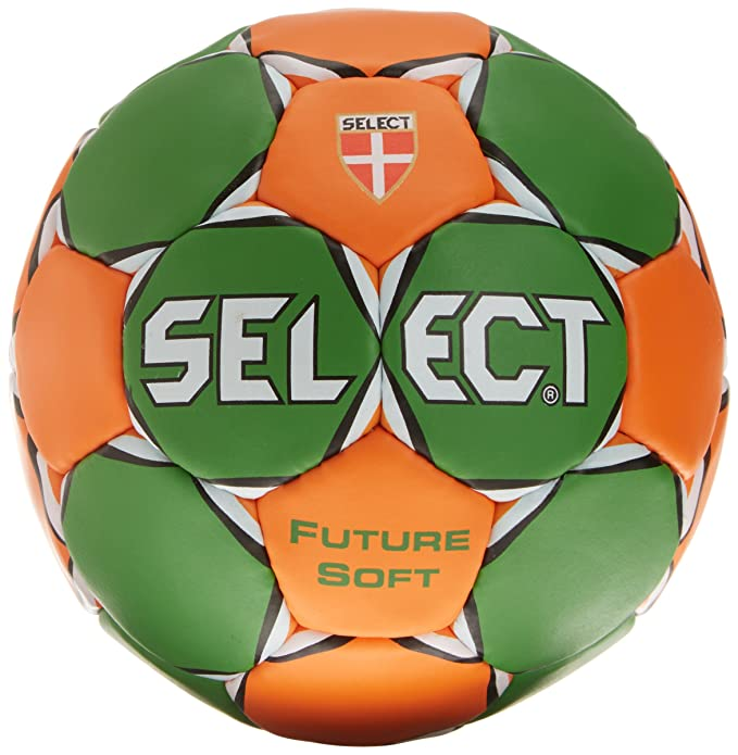 SELECT Future Soft - Balón de Balonmano Verde Verde/Naranja Talla ...