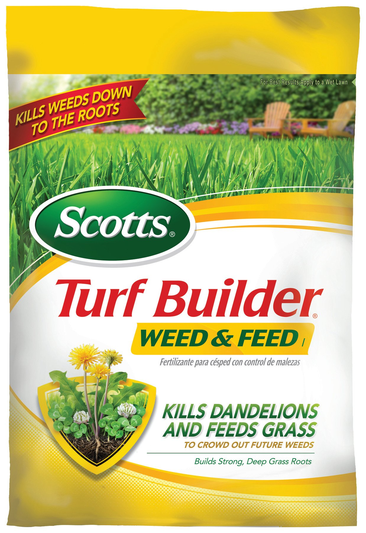 Scotts Turf Builder Lawn Food Weed And Feed Lawn Fertilizer Plus Dandelion Weed Killer Not Sold In Pinellas Buy Online In Barbados At Barbados Desertcart Com Productid 2429109
