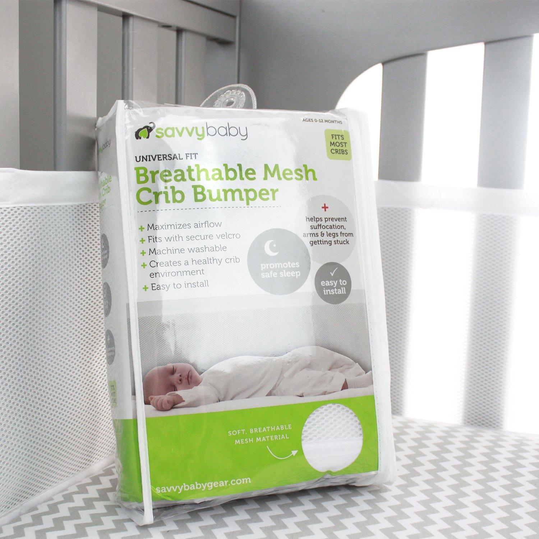 Amazon Breathable Mesh Crib Bumper Liner