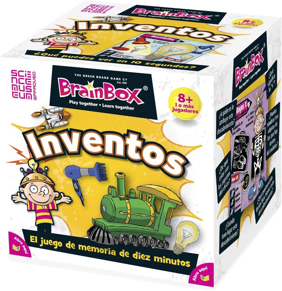 Brain Box Juego de Memoria Inventos, Multicolor (31690015A): Amazon.es: Juguetes y juegos