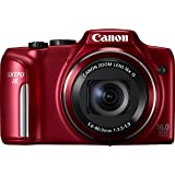 Canon Powershot SX170 IS ( 16.6 MP,16 x Optical Zoom,3 -inch LCD ) (discontinued by manufacturer)