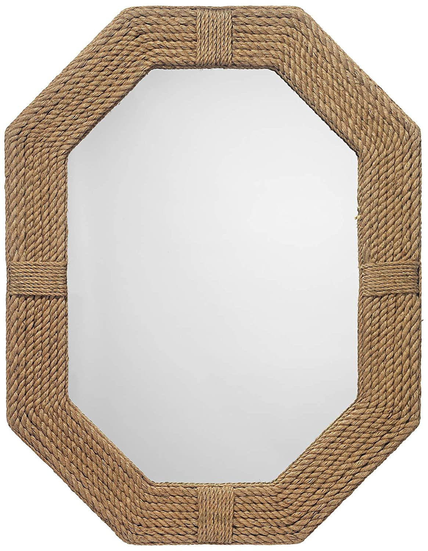 Nautical Jute Wall Hanging Mirror - Nagina International