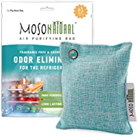 MOSO NATURAL: The Original Air Purifying Bag for The Refrigerator. for Fridge and Freezer. an Unscented, Chemical-Free…
