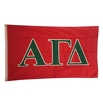 alpha gamma delta letter flag new colors